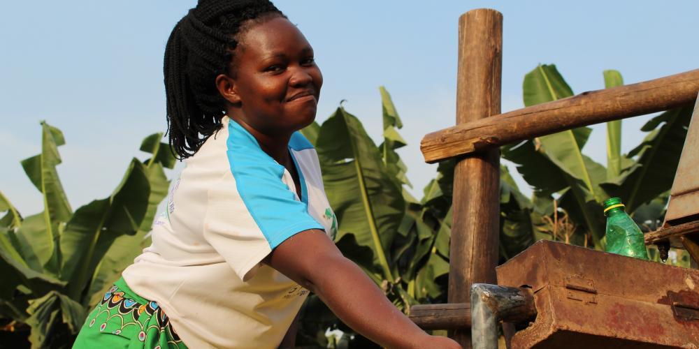 Harriet, Kabarole District Uganda