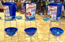 Handwashing stands