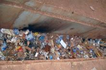 Des caniveaux mal entretenus à Ouagadougou