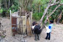 Toilette en Indonésie