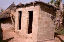 toilette en Afrique