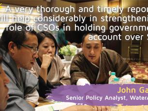 Accountability report testimonial by John Garrett