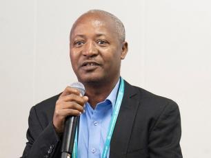 Delegate from Ethiopia at IRC WASH symposium