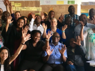 Group photo of CSO advocacy meeting in Kenya