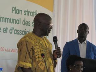 M. Simon Compaoré, Ministre d'Etat de Burkina Faso