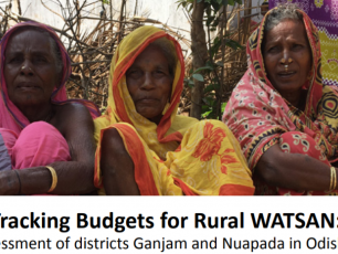 Cover Watershed working paper on budget tracking in Odisha