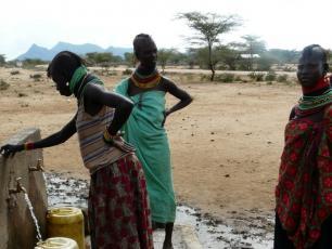 Kenya Arid Lands Disaster Risk Reduction (KALDRR) WASH project. Foto: Mélanie Carrasco/IRC