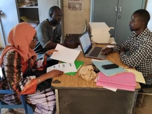 Mali team during a monitoring and learning workshop in 2020