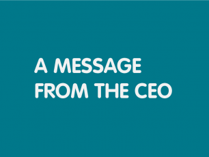 A message from the CEO