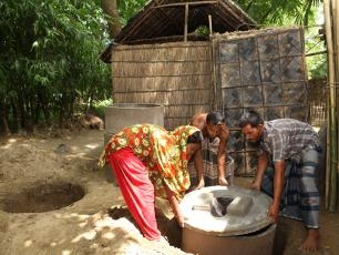 Sanitation Banglades image by BRAC