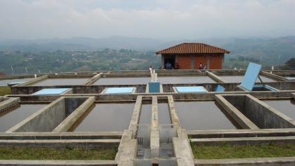Multi stage filtration water system Colombia