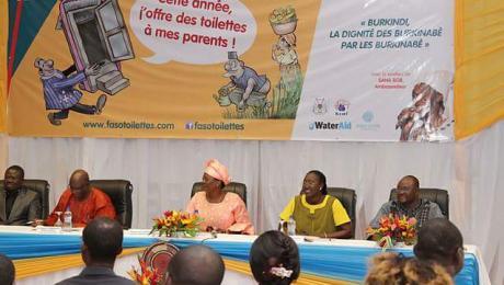 Cérémonie de lancement de FASOTOILETTES 2017 présidée par Mme Sika Kaboré